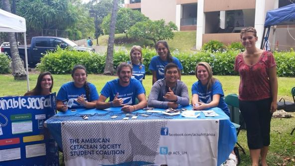 members on the University of Hawaii at Manoa campus